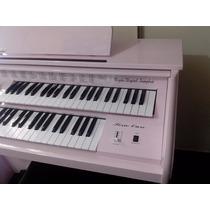 Orgão Eletronico Acordes Rosa Alto Brilho Lojas Sam Musical