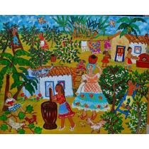 Conceiçao Silva Tema Baihana No Cafezal Medida 50x40 A.s.t