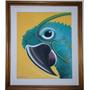 Quadro Tela Obra De Arte - M.cavalcante 1988 -60x50