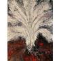 Quadro Pintura Abstrata Tinta Óleo S/tela Painel 60x80cm