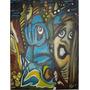 Pintura - Óleo Sobre Tela - Tamanho 30x40 - Luzes