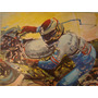 Arte Pintura Quadro Painel Paulo Acencio Ost A Moto De Vey
