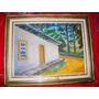 Quintal De Residência De Dr.osvaldo Cruz Em Amarelo- 30x40cm