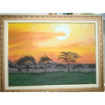 Telas De Pinturas, Paisagens..50.x.70.óleos/tela..c/moldura.
