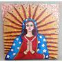 Quadro Pintura Arte Naif - Nossa Senhora