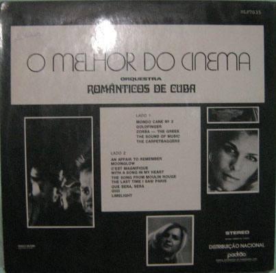 Orquestra Românticos De Cuba - O Melhor Do Cinema Nº 2 1976