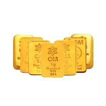 Barra De Ouro Puro 24k Certificada