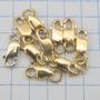 0594 Fecho Mosquetão De Ouro 18k 750 W