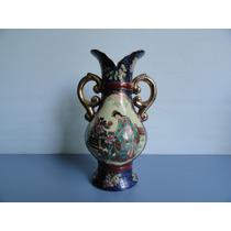 Antiga Ânfora / Vaso Em Porcelana Oriental