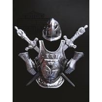 Armadura Medieval Espanhola Em Alumínio 6 Peças
