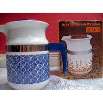 Jarra Cafeteira De Porcelana Pozzani