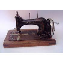 Máquina De Costura Antiga Koehler