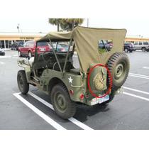 Cantil Em Lona Para Jeeps Militares - Exército - Antigo