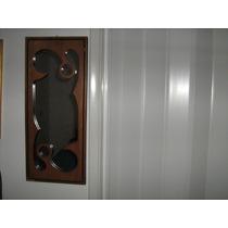 Lindo Espelho C/ Moldura Em Madeira-frete Grátis