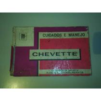 Manual Chevette 1975 Original