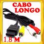 Cabo Av Para Super Nintendo 64 Game Cube