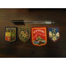 Apliques Medalhões Bordados Austriacos Antigos Para Jaqueta