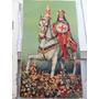 Antigo Santinho Litografado Anos 10 São Jorge Guerreiro Ogum