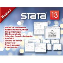 S/ Frete! Stata 13 Mac Osx| Análise E Estatistica