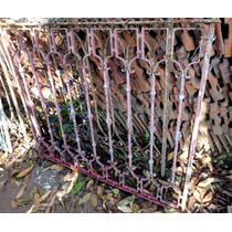 Uma Antiga Sacada, Grade Em Ferro Forjado, Bahia Séc. 19