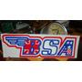 Adesivo Bsa Original Antigo Raro Flat Track Café Racer