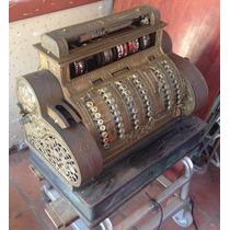 Máquina Registradora National Elétrica/manual Funcional