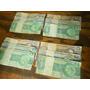 Lote 3 Notas - Notas De 1, 5 E 10 Cruzeiros Anos 70
