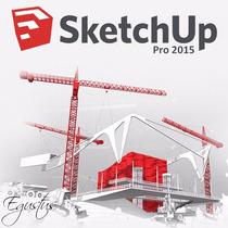 Sketchup 2015 Pro Mac Pt Br + Plugins # Envio Porema-il #