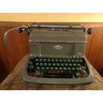 Antiga Maquína Escrever Halda Facit - R 2111