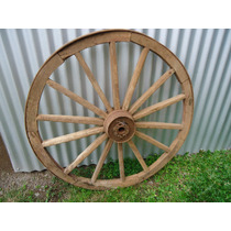 Antiga Roda De Carroça De 1,06 De Diâmetro.