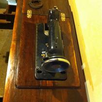 Maquina Costura Antiga Pé Base Singer Mesa