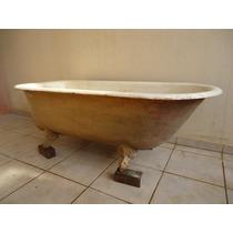 Banheira Vitoriana Antiga De Ferro Com Pezinhos Originais