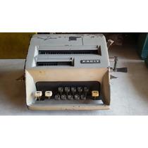 Máquina Calculadora Facit Antiga Déc 80