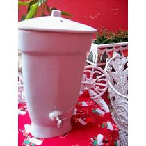 Filtro De Agua Em Porcelana Antigo