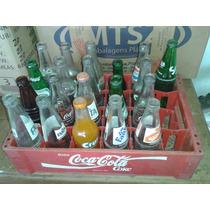 (only Wood) Refrigentes Antigos Na Caixa Da Coca