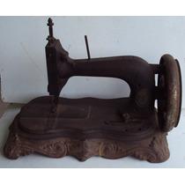 Maquina De Costura Antiga - Clemens Muller Dresden - At1