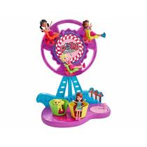 Boneca Polly Pocket Parque De Diversões Roda Gigante Mattel