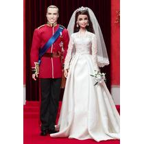 Barbie E Ken William And Catherine Royal Wedding Giftset Nrf