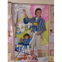 Barbie Happy Family Alan & Ryan Nao Gravida