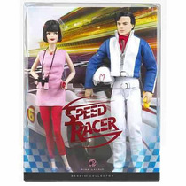 Barbie Pop Culture - 2008 - Speed Racer Barbie & Ken