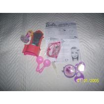 Lote De Acessórios Barbie Mattel Estrela