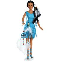 Od Boneca Índia Tipo Barbie Tonner Collector Doll 45cm