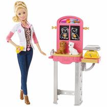 Barbie - Veterinária Quero Ser + Acessórios - Mattel Ccp70