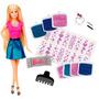 Boneca Barbie Glitter No Cabelo