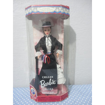 Boneca Barbie Chilena Mattel - Nova