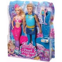 Barbie Sereia Das Perolas-casal Mattel