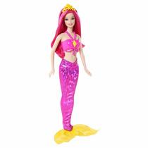 Boneca Barbie Mix & Match Sereia Rosa Mattel