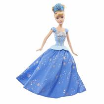 Boneca Princesas Disney Cinderela Twirling Gira
