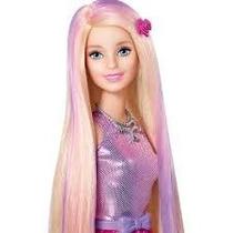 Barbie Cor E Estilo - Cabelo Mechas Rosa + Acessórios