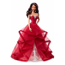 Barbie Collector Holiday 2015 Aa Negra - Nrfb